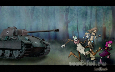 World of Tanks vs League Legends