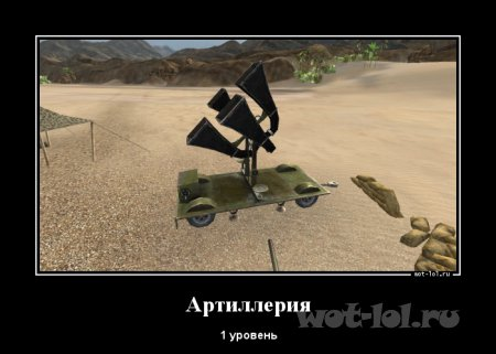 Артиллерия 1 уровень