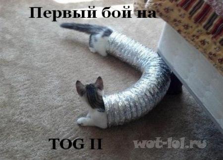 Первый бой на TOG II