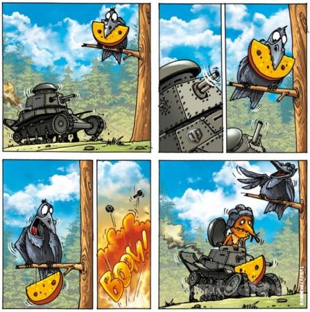 Басня о танках