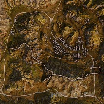 Новая карта Великая Китайская стена