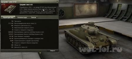 ТТХ Советских танков 0.8.8