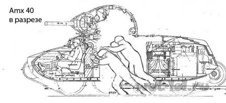 амx 40 в разрезе