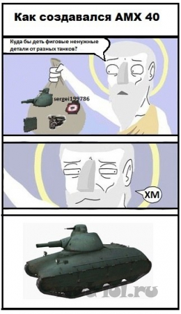 Как создавался AMX40