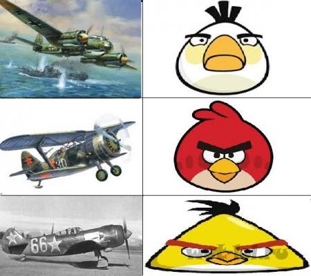 Angry planes !