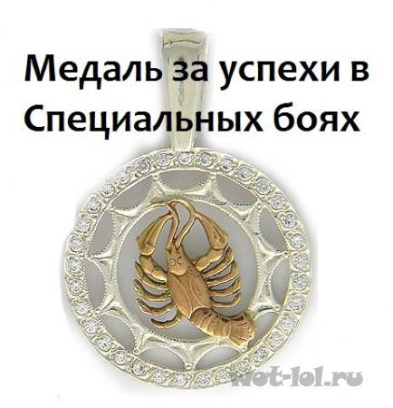 Медаль за успехи