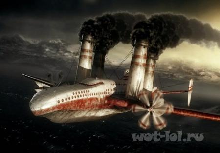 Корабле-самолет