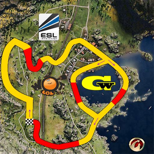 ESL WoT Race Cup. Неделя 4, Режим: круг (02.03.14)