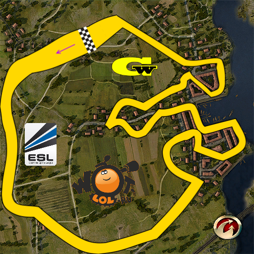 ESL WoT Race Cup. Неделя 5, Режим: круг (07.04.14).