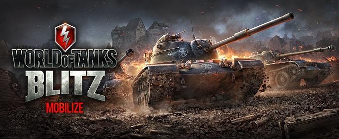 Официальный выход World of Tanks Blitz!