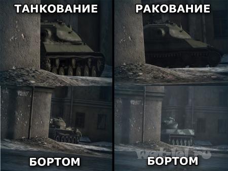 Танкование бортом