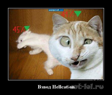Взвод Hellcat-ов