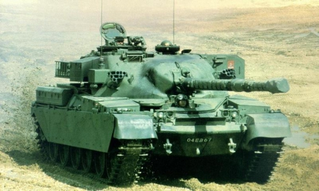 Замена топового тяжа британии FV215b