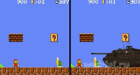 К такой черепахи, Марио готов не был