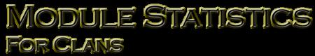 Модуль статистики для кланов 3.1.1