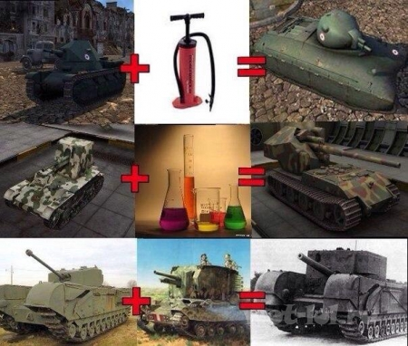 Как добавляют новые танки...