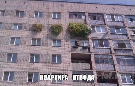 Квартира ПТ-вода
