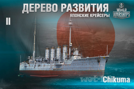 Ветки развития: крейсеры японского флота