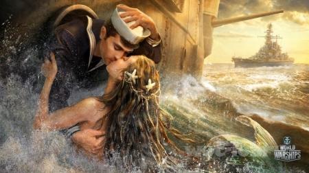 День всех влюблённых с World of Warships!