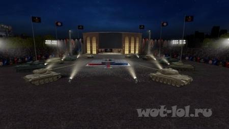 Праздничный ангар к 9 мая и ангар посвящённый Гранд финалу ВГ лиги