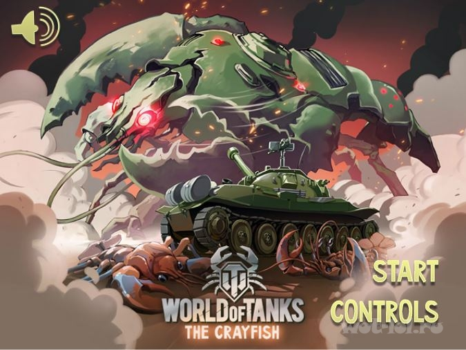 Браузерная игра World of Tanks: The Crayfish
