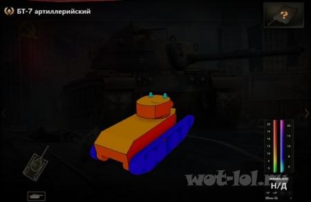 БТ-7 артиллерийский