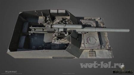 Type 34,Leopard 1 и Hummel в HD