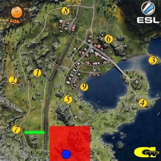 Esl Wot Race. Турнир №43 (15.05.15). Режим Chekpoint.