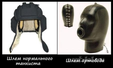 Шлем артовода