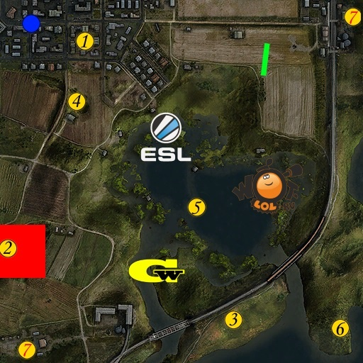 ESL WoT Race. Турнир №53 (19.06.15). Режим Chekpoint.