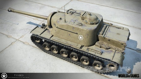 T110E3, Churchill VII и новый M4A1 Revalorise в HD