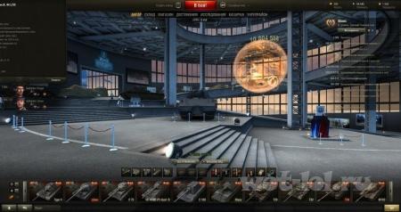 Cкриншоты праздничного ангара к 5-летию игры.