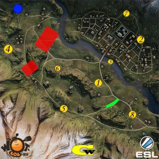 ESL Wot Race. Турнир №61 (17.07.15). Режим Chekpoint.