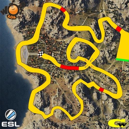 ESL WoT Race. Турнир №70 (17.08.15).