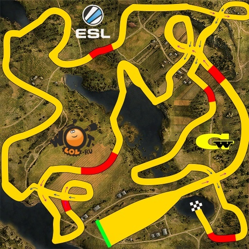 ESL WoT Race. Турнир №72 (24.08.15).