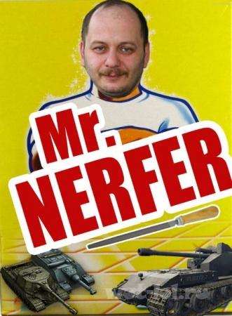 Mr. Nerfer