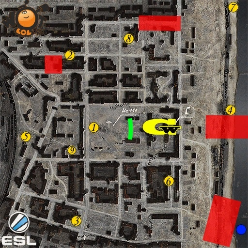 ESL WoT Race. Турнир №79 (18.09.15). Режим Chekpoint.