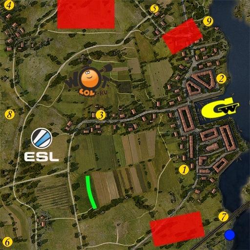 ESL WoT Race. Турнир №81 (25.09.15). Режим Chekpoint.