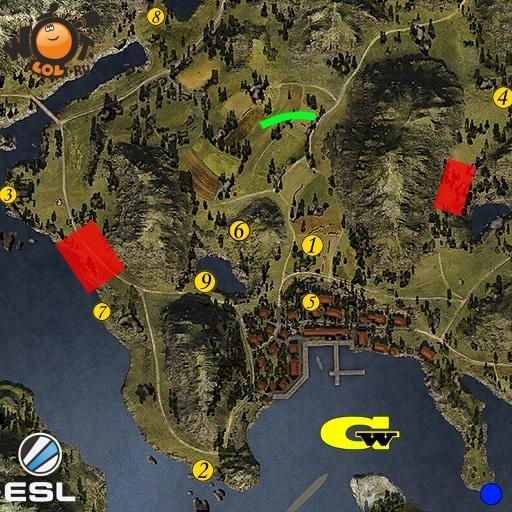 ESL WoT Race. Турнир №83 (02.10.15). Режим Chekpoint.
