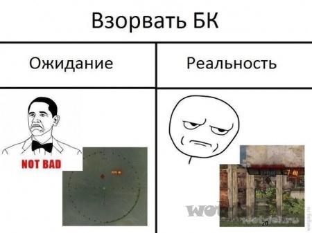 Взрыв БК