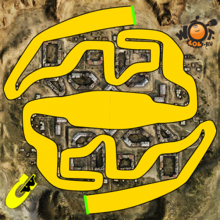 """Гонка """"Затерянная симметрия"""" от Ha_3DOPOBbE (21.11.15)"""