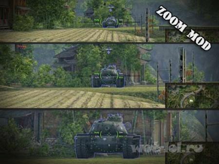 10-х позиционный снайперский прицел для WOT 0.9.18