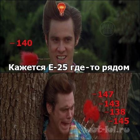 Кажется е-25 где то рядом