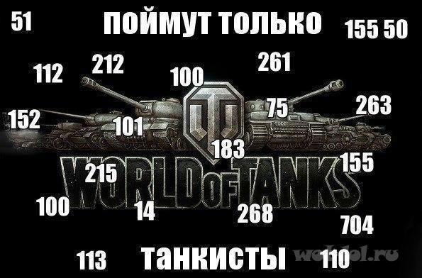Поймут только танкисты