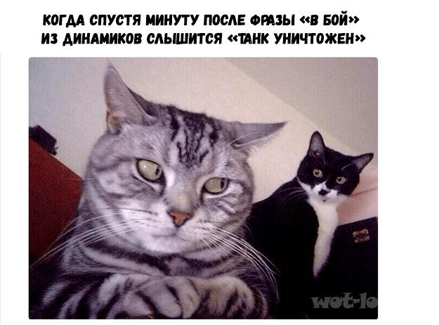 """Спустя минуту после """"В бой"""""""